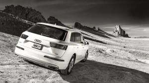 Audi Q7 goes to Shiprock